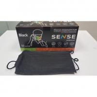 Маска медицинская трехслойная SENSE Professional 50 шт.