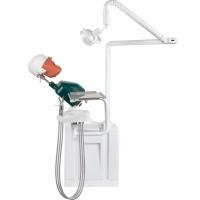Стоматологический фантом пациента мобильный, электрический JG-A2