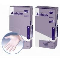 Перчатки Ambulex VINYL виниловые неопудренные размер S по 100 шт. в наличии 520 уп