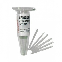 Армодент Штифты стекловолок. d-1,0мм длинна 20мм /(10шт)