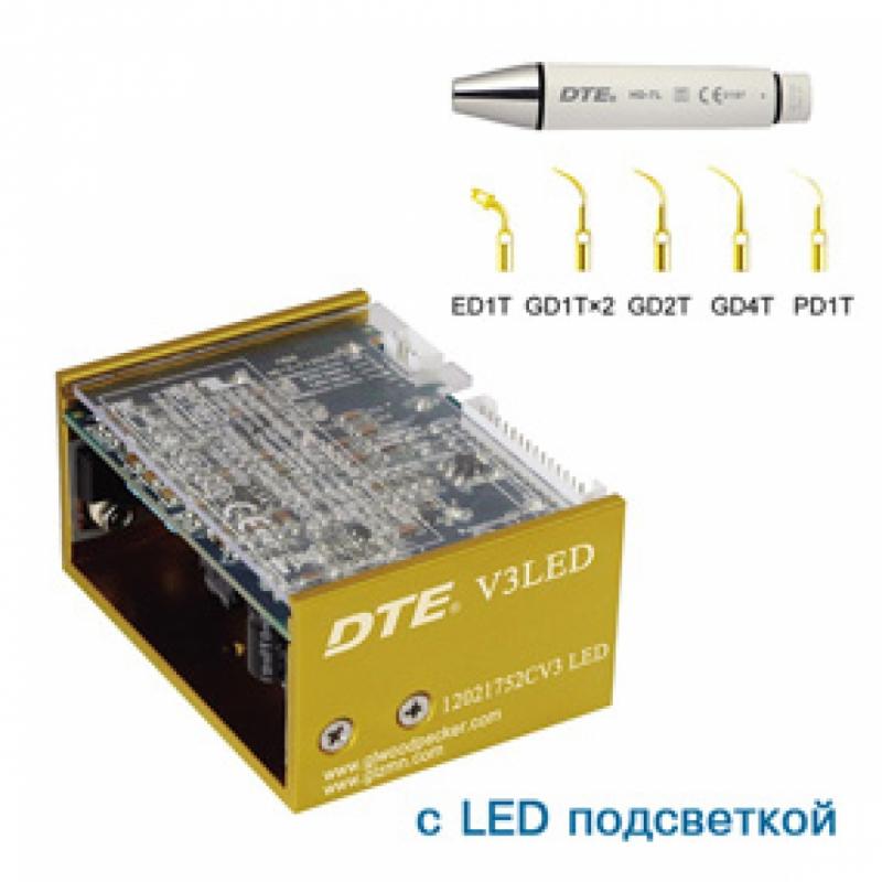Cкалер ультразвуковой встраиваемый DTE-V3 LED подсветка