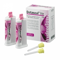 Detaseal hydroflow lite regular set, корригирующий материал, стандартная упаковка 2х50мл