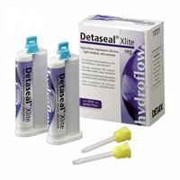 Detaseal hydroflow Xlite regular set, корригирующий материал, стандартная упаковка 2х50мл