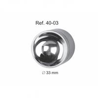 Лоток для хранения и стерилизации инструмента, диаметр 33 мм